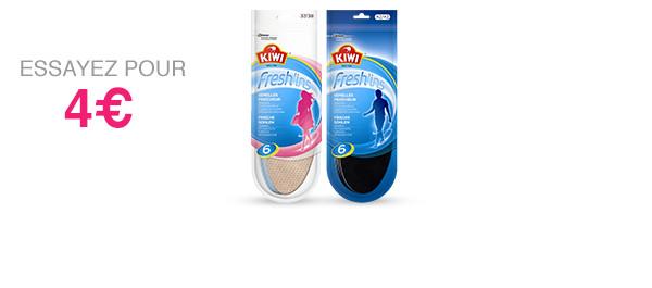 Kiwi® Semelles Fresh'ins