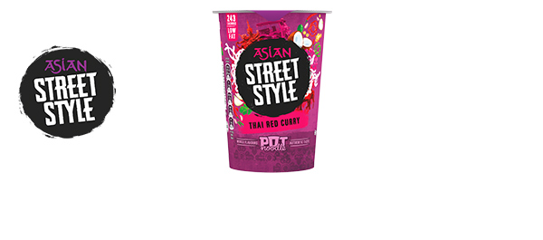 Pot Noodle Asian Street Style