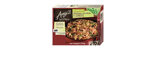 Amy's Kitchen Gluten Free ready meals