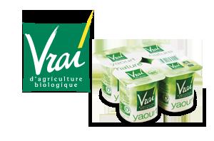 Vrai Produits laitiers Bio