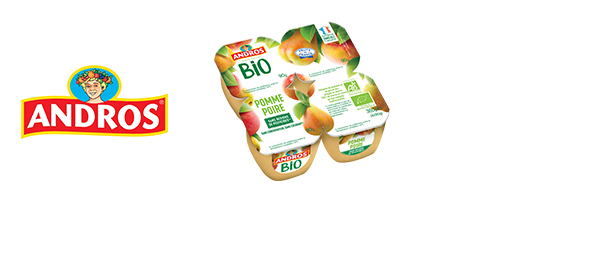 Les Desserts Fruitiers® BIO Andros