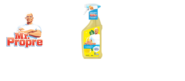 Mr Propre Spray Nettoyant Multi-Usages