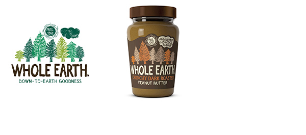 Whole Earth Dark Roasted Peanut Butter