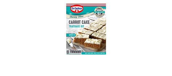 Dr. Oetker Carrot Cake Traybake