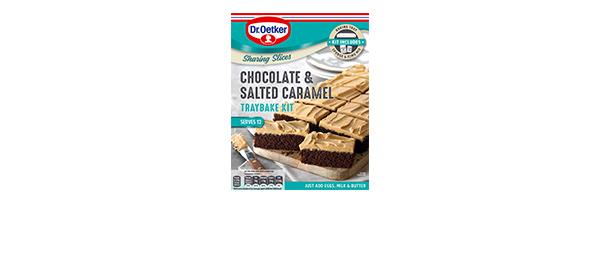 Dr. Oetker Chocolate & Caramel Traybake