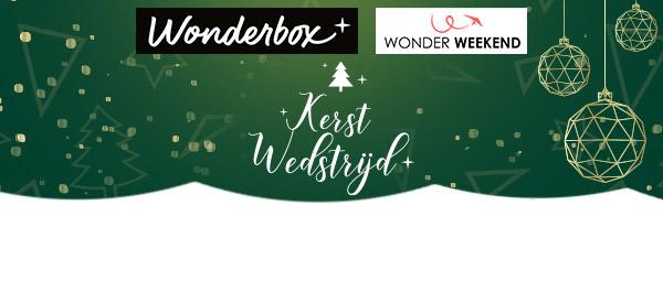 Kerstwedstrijd Wonderbox