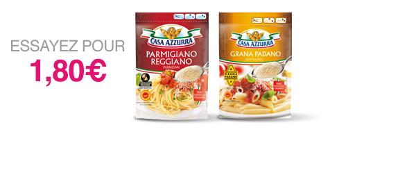 Parmigiano Reggiano + Grana Padano