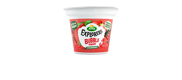 Arla Explorers Kids Bubble Yoghurts