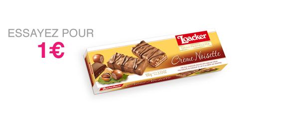 Loacker Crème Noisette 100g