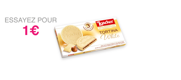 Loacker Tortina White 63g