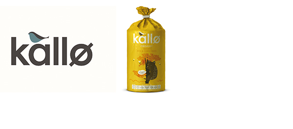 Kallo Organic Honey Rice & Corn Cakes