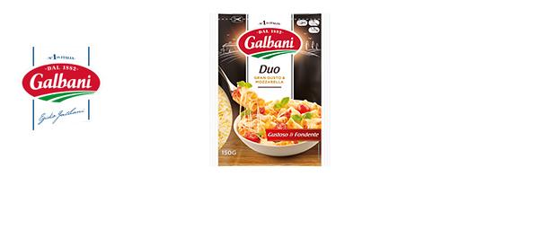 Nouveau Fromage râpé Galbani Duo