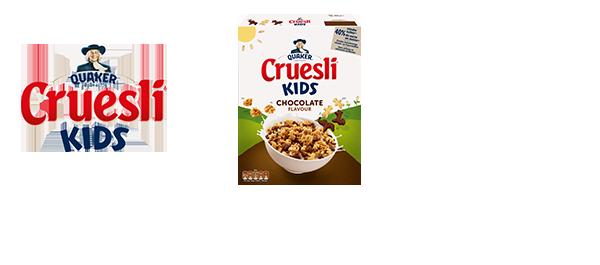 Quaker Cruesli Kids