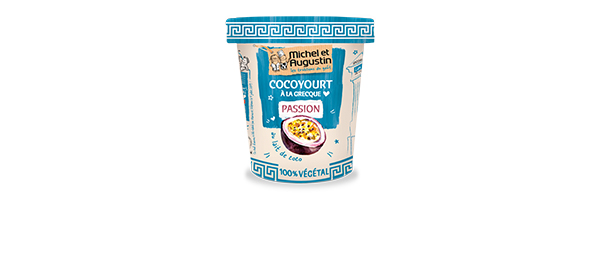 Cocoyourt à la grecque 100% végétal