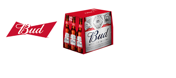 BUD, KING OF BEERS