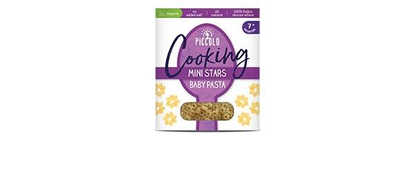 Piccolo Organic Mini Stars Pasta