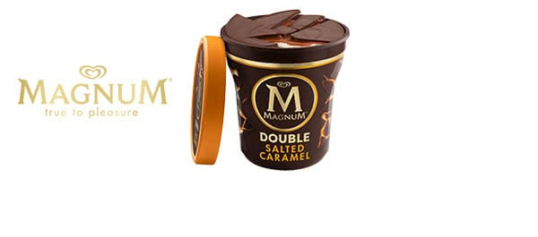 Magnum Double Ice Cream Tubs