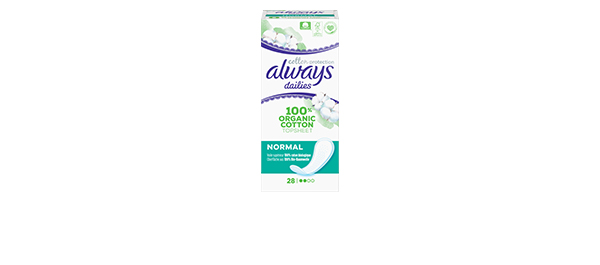 Always Dailies Cotton Protection