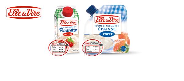 Crèmes fraîches Elle & Vire
