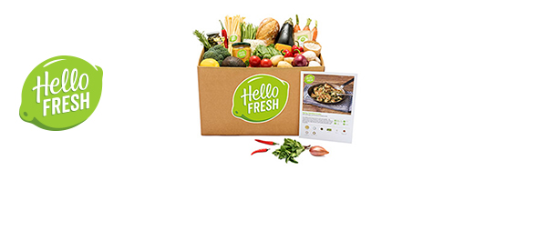 La Box repas HelloFresh