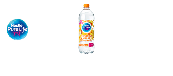 NESTLÉ PURE LIFE Flavoured Fizzy Water