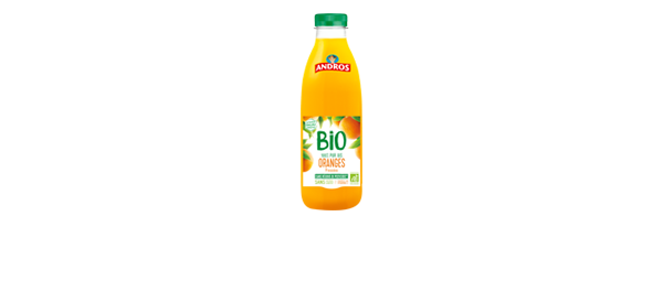 Jus de fruits BIO Andros