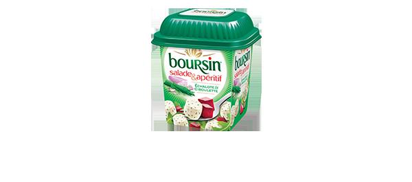 Boursin Salade Echalote & Ciboulette