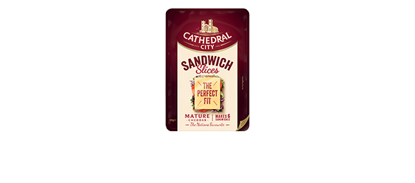 Cathedral City Sandwich Slices Mature