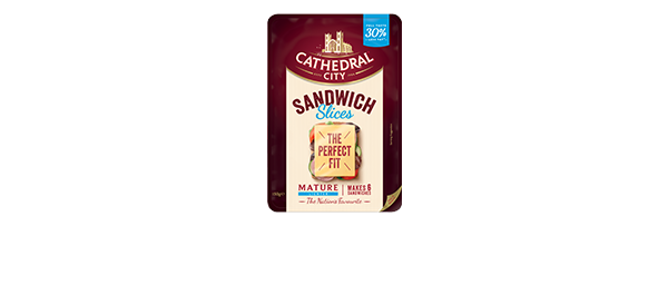 Cathedral City Sandwich Slices Lighter