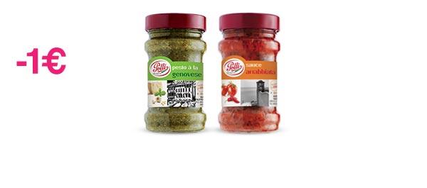 Pesto et Sauce