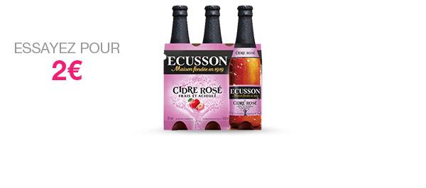 ECUSSON Cidre Rosé