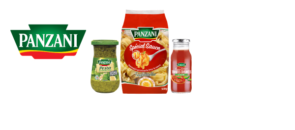 Pâtes Spécial Sauce et Sauces Panzani