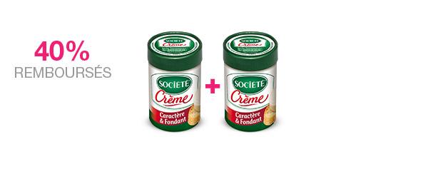 Société Crème x2