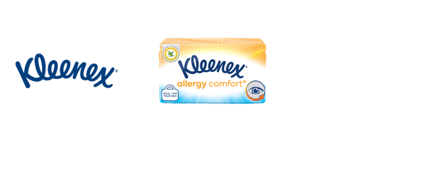 New Kleenex Allergy Comfort Tissues