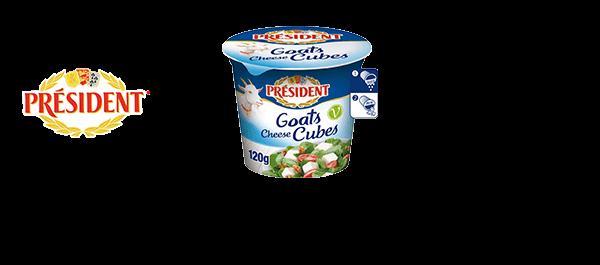 Mild & Creamy Goats Cheese Cubes