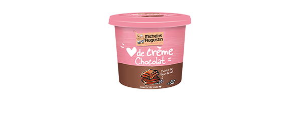 Coeur de crème chocolat noir