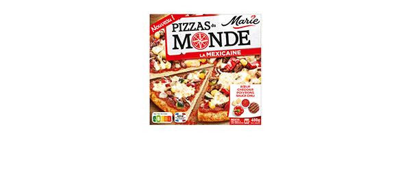 Pizzas du Monde Mexicaine