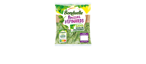L'Epinard Sans Résidu Bonduelle
