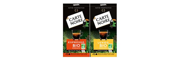 Capsules Carte Noire Bio x10