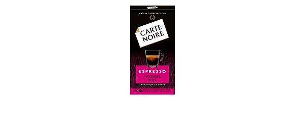 Capsules Carte Noire x10