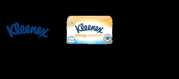 New Kleenex Allergy Comfort Tissues