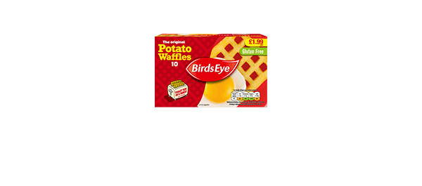 Birds Eye 10 Potato Waffles