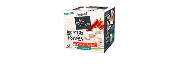 P'tits Pavés d'Affinois Poivron Piment