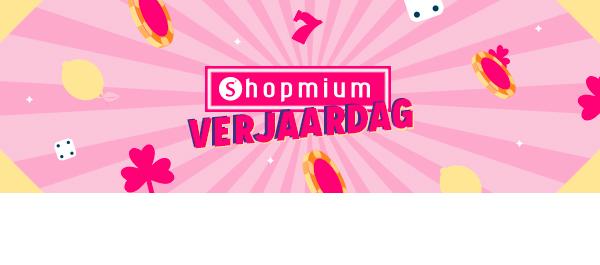 De Shopmium Verjaardag