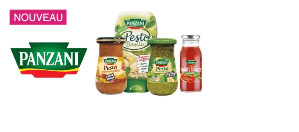 Sauces Pesto & Panzani Créations
