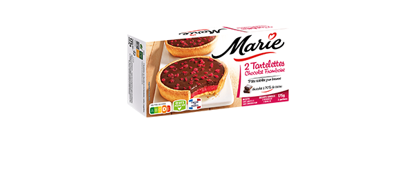 Les Tartelettes Chocolat Framboise