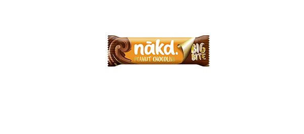 Nakd Big Bite Peanut Chocolish 50g