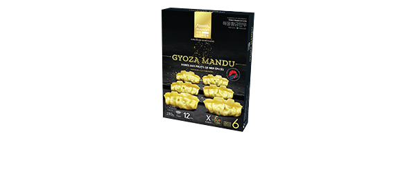 Gyoza mandu aux fruits de mer épicé