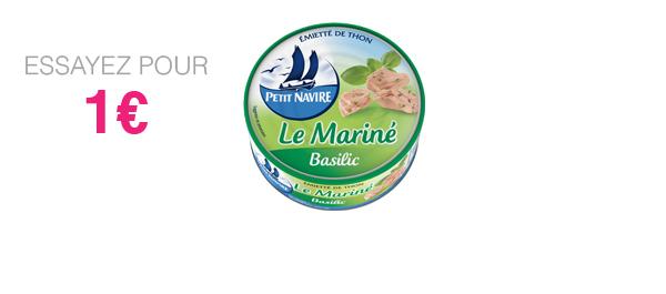 Thon Le Mariné Basilic