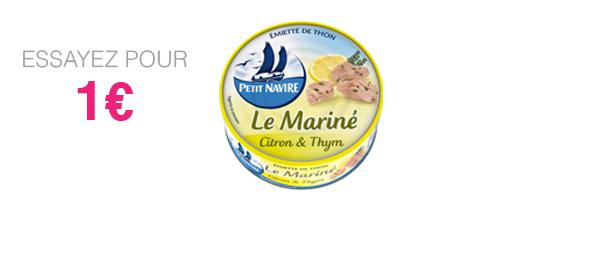 Thon Le Mariné Citron & Thym